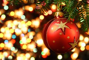 Christmas baubel
