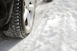 tyres on snow