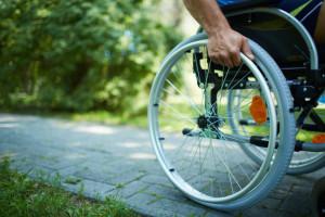wheelchair wheel