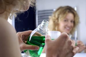 green mouthwash